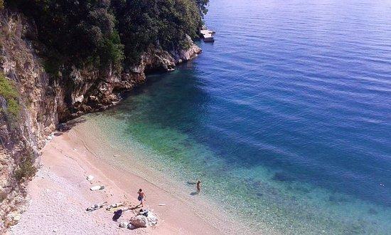 Sablicevo: Sablićevo beach in Rijeka