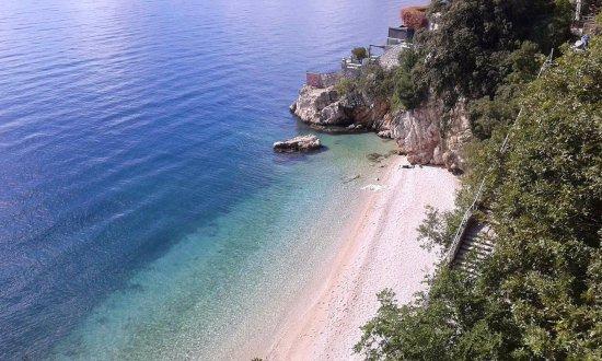 Ριέκα, Κροατία: Sablićevo beach in Rijeka