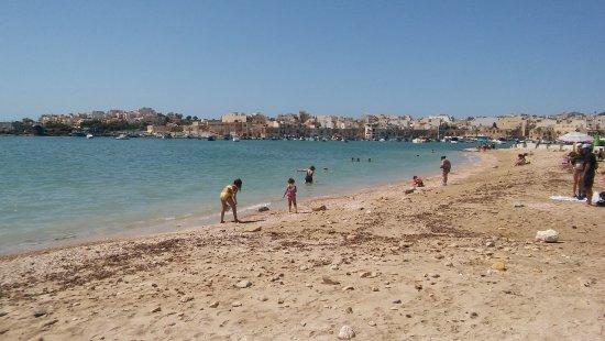 Marsaxlokk, Malta - dzika plaża