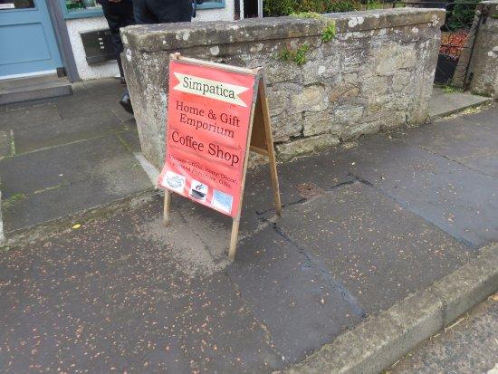 Kingsbarns, UK: sign
