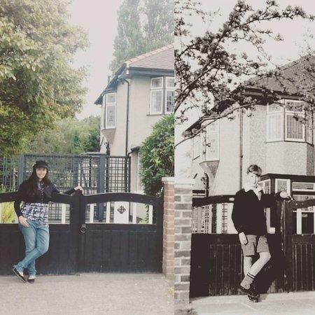 Mendips - John Lennon Home: Fue muy emocionante poder recrear esta foto :)
