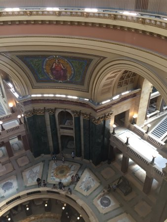 Wisconsin State Capitol: Inside the Capital.