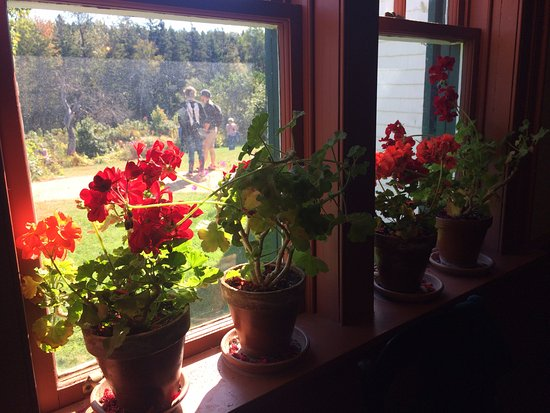 Green Gables kitchen window