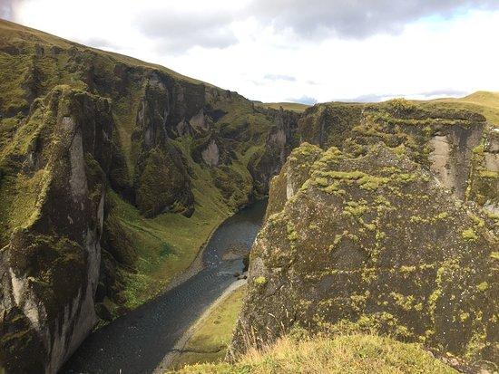 Kirkjubaejarklaustur, Islanda: Fjadrargljufur Canyon