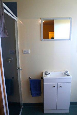 Motueka, New Zealand: En suite bathroom