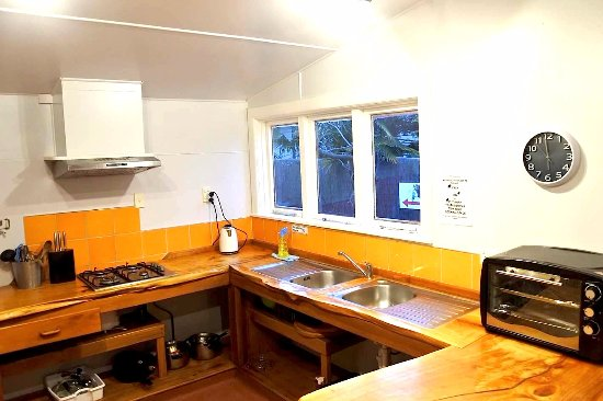 Motueka, New Zealand: Villa kitchen