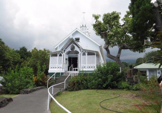 Honaunau, Hawái: St. Benedict Painted Church