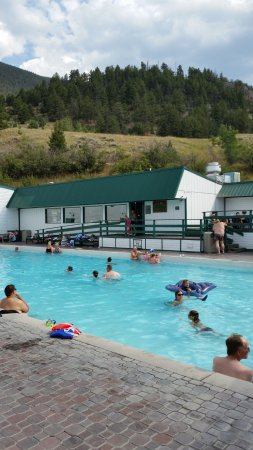 Chico Hot Springs: Main Pool