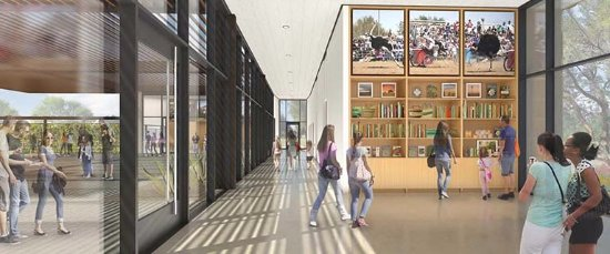 Chandler, AZ: Rendering image of the New Museum