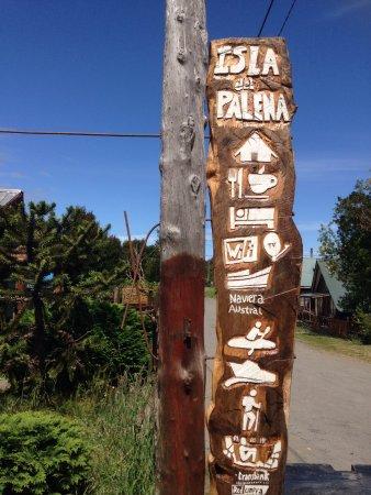 Puerto Raul Marin Balmaceda, Chile: Letrero Exterior