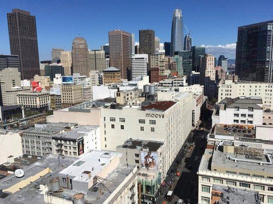 Hotel Nikko San Francisco: Union square view
