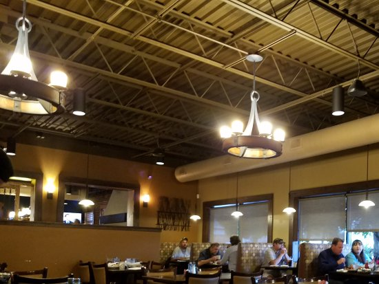 King, NC: Interior view of dining area