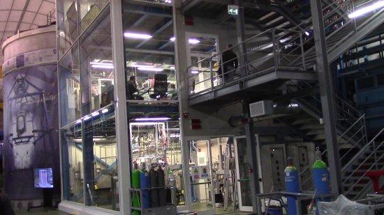 Assergi, İtalya: Sale dei diversi esperimenti