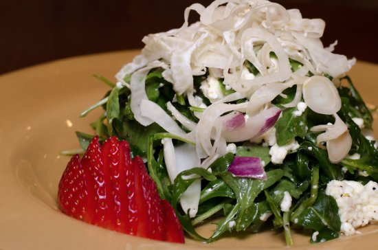 Howard Beach, NY: Arugula Salad