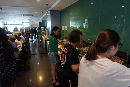 Bangkok City Hotel : Buffet breakfast
