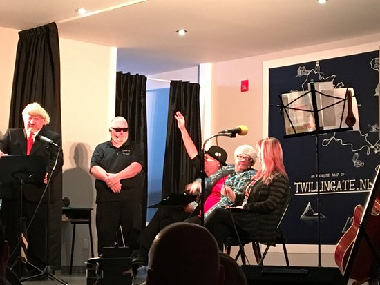Twillingate/NWI  Dinner Theatre : Donald Trump Press Conference - hilarious.