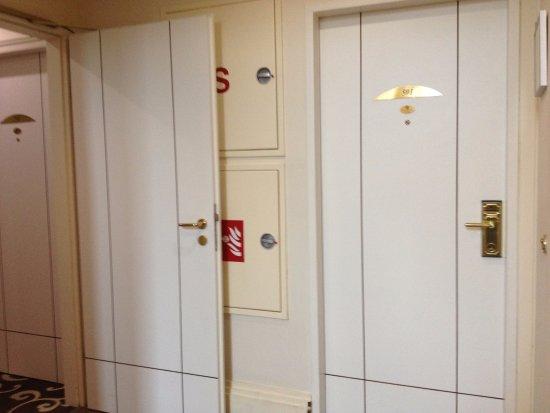 Grand Hotel Bohemia :  501 accanto all'ascensore e prima di tutte