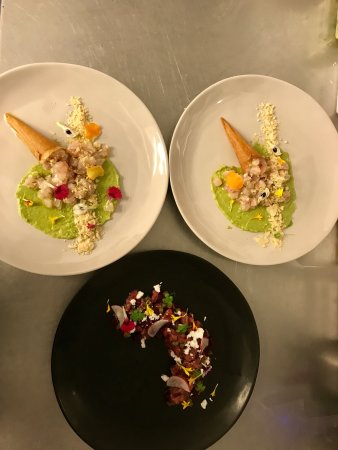 Yamba, Australia: Few dishes and local produces on the menu
