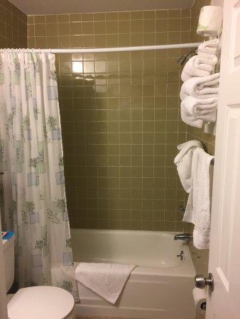 North Shore Inn: Nice clean bathroom