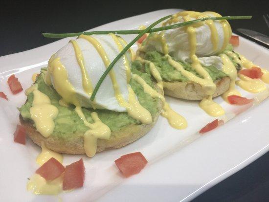 Eggs avocado for Breakfast
