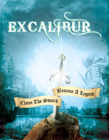 Clue IQ: An Escape Room Experience: Excalibur Poster