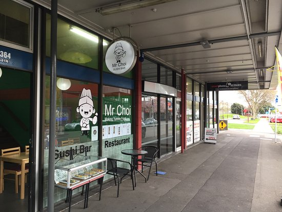 Palmerston North, Nueva Zelanda: Lunch at Mr Choi