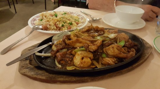 Engadine, ออสเตรเลีย: Combination Mongolian and Fried Rice