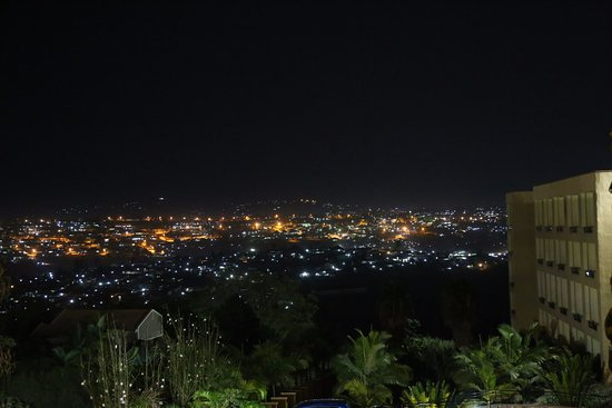 Flame Tree Village: Kigali at night
