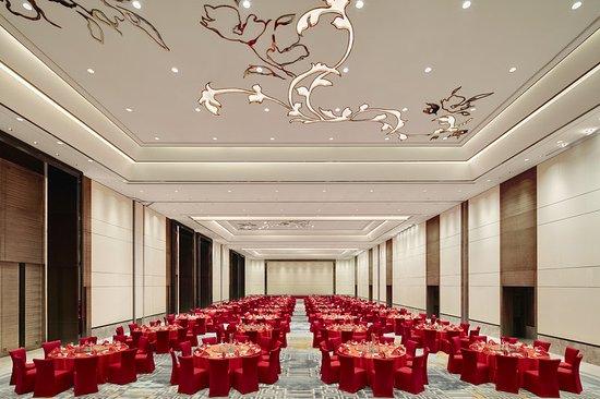 Zibo, China: Grand ballroom-Wedding Red