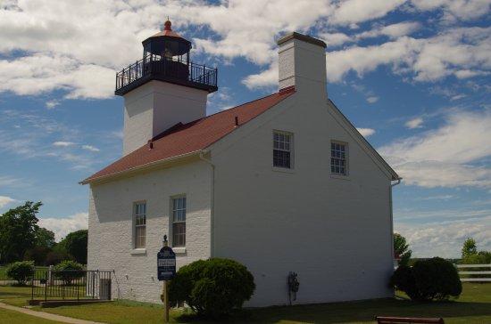 Escanaba, MI: Back of Lighthouse