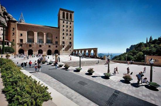 Accès au monastère de Montserrat et...