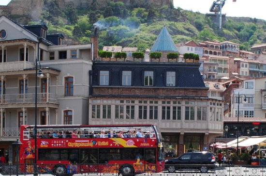 CitySightseeing Tbilisi Tour en bus...