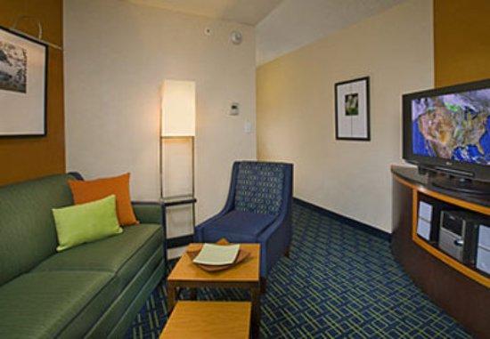 Fairfield Inn & Suites Hartford Airport: Suite Sitting Area