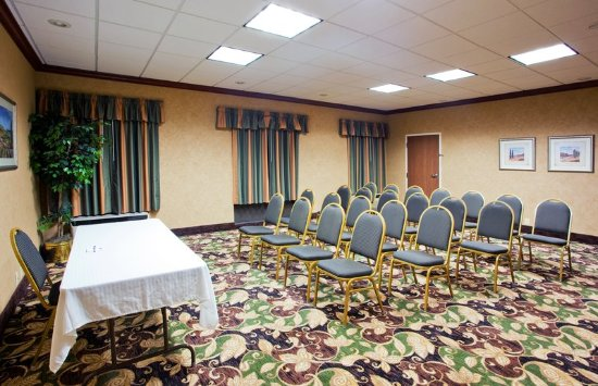 Troy, OH: Our meeting room can be set up to your specifications.