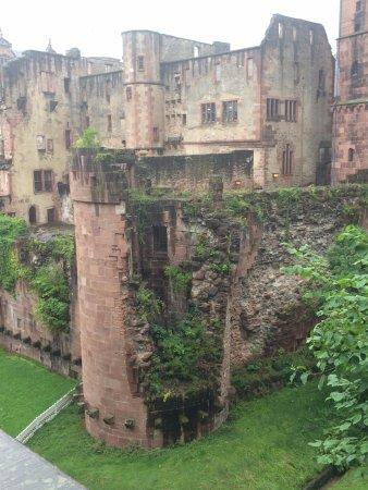 Schloss Heidelberg: Uma de suas faces