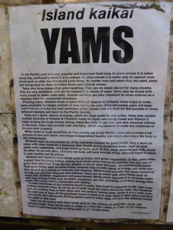 Mele, Vanuatu: Yams