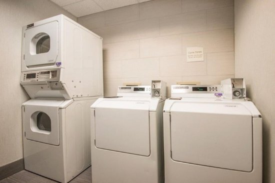 Guest laundry Picture of Hilton Garden Inn Wichita Wichita