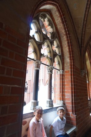 one of the first central heating system. - Picture of Malbork Castle ...