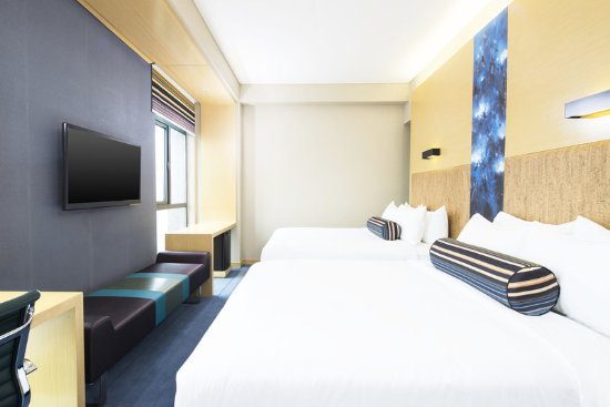 Yancheng, Çin: Double Queen Guest Room