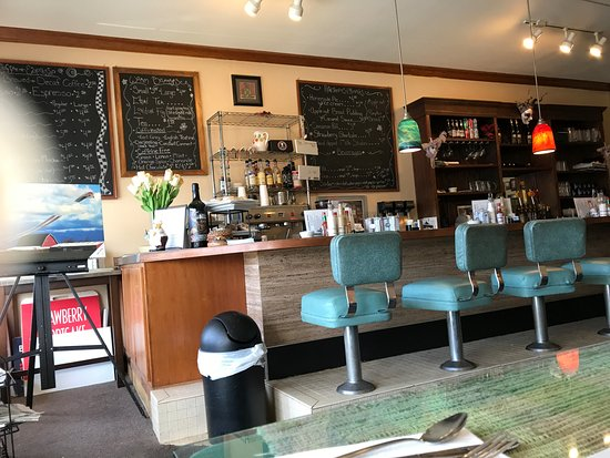 Burlington, واشنطن: Sit at the counter or at a table