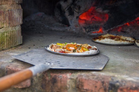 Tamparuli, Malaysia: Wood fired pizza package available
