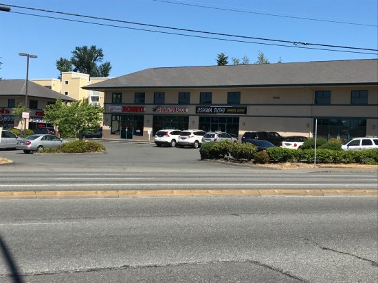 Everett, WA: From across the street, it looks like a motel building!