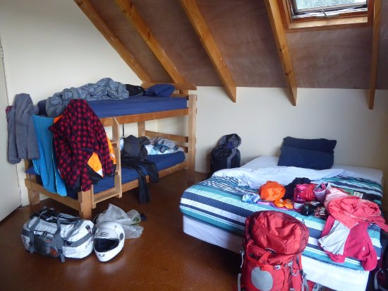 Raglan Backpackers and Waterfront Lodge: Particolare della camera da 6 posti letto