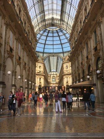 Cafe Trussardi: Galleria