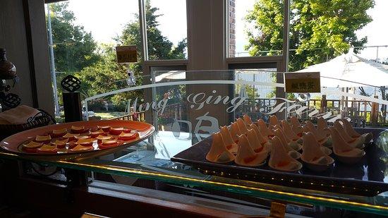 Ming Ging Farm : 早餐區