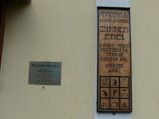 Vranov nad Dyji, República Checa: Informace o pensionu