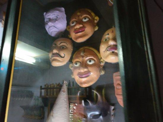 Loutolim, Индия: masks