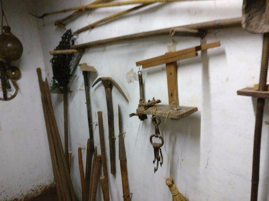 Loutolim, الهند: farming tools