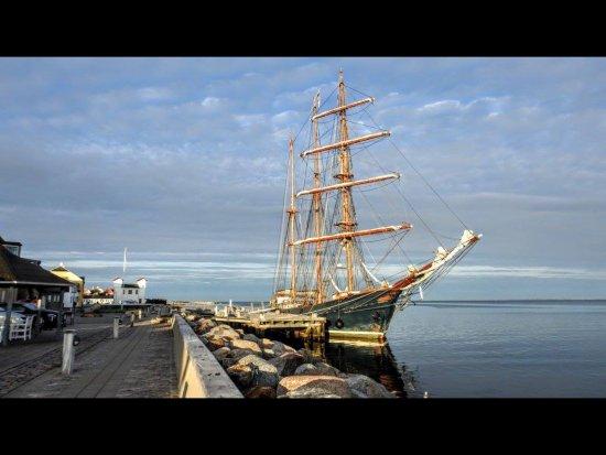 Loegstoer, Dinamarca: Stemnings billede fra havnen.