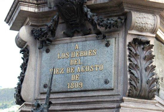 Monumento a los Heroes del 10 de Agosto